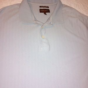 Mens Oak Hill Dry Action Blue Polo Shirt Size 2XLT